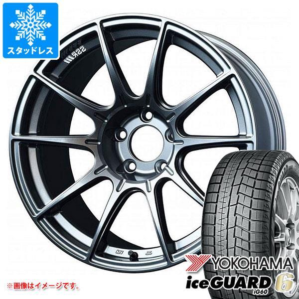 スタッドレスタイヤ ヨコハマ アイスガードシックス iG60 245/45R18 100Q XL & SSR GTX01 8.5-18 タイヤホイール4本セット 245/45-18 YOKOHAMA iceGUARD 6 iG60