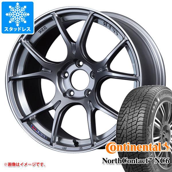 スタッドレスタイヤ コンチネンタル ノースコンタクト NC6 235/50R18 101T XL & SSR GTX02 8.5-18 タイヤホイール4本セット 235/50-18 CONTINENTAL NorthContact NC6