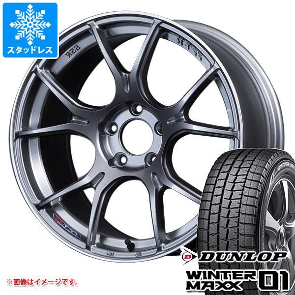 スタッドレスタイヤ ダンロップ ウインターマックス01 WM01 175/60R16 82Q & SSR GTX02 6.5-16 タイヤホイール4本セット 175/60-16 DUNLOP WINTER MAXX 01 WM01