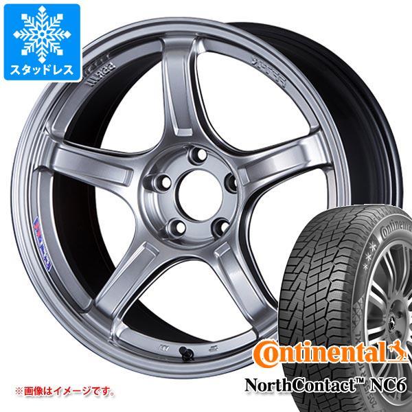 スタッドレスタイヤ コンチネンタル ノースコンタクト NC6 235/65R17 108T XL & SSR GTX03 7.0-17 タイヤホイール4本セット 235/65-17 CONTINENTAL NorthContact NC6