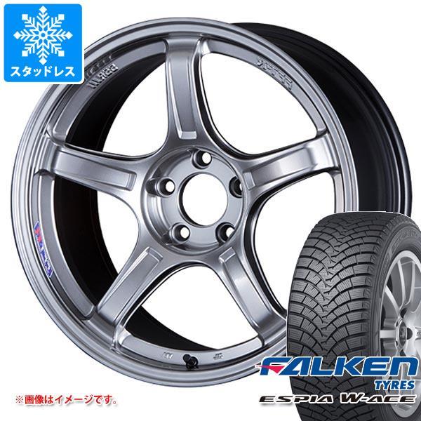 スタッドレスタイヤ ファルケン エスピア ダブルエース 165/55R15 75H & SSR GTX03 5.0-15 タイヤホイール4本セット 165/55-15 FALKEN ESPIA W-ACE