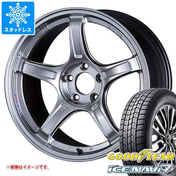 スタッドレスタイヤ グッドイヤー アイスナビ7 165/60R15 77Q & SSR GTX03 5.0-15 タイヤホイール4本セット 165/60-15 GOODYEAR ICE NAVI 7