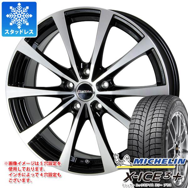 スタッドレスタイヤ ミシュラン エックスアイス3プラス 195/65R15 95T XL & ラフィット LE-03 6.0-15 タイヤホイール4本セット 195/65-15 MICHELIN X-ICE3+