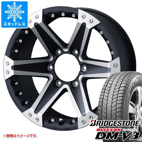スタッドレスタイヤ ブリヂストン ブリザック DM-V3 265/65R17 112Q & マッド ヴァンス 01 8.0-17 タイヤホイール4本セット 265/65-17 BRIDGESTONE BLIZZAK DM-V3