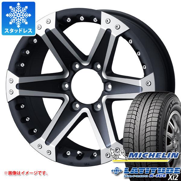スタッドレスタイヤ ミシュラン ラティチュード エックスアイス XI2 265/70R16 112T & マッド ヴァンス 01 8.0-16 タイヤホイール4本セット 265/70-16 MICHELIN LATITUDE X-ICE XI2