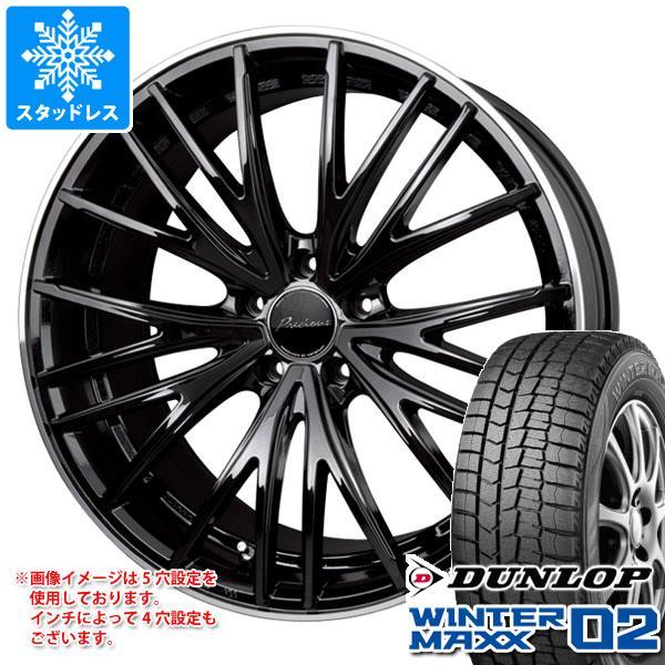 スタッドレスタイヤ ダンロップ ウインターマックス02 WM02 165/55R14 72Q & プレシャス アスト M1 4.5-14 タイヤホイール4本セット 165/55-14 DUNLOP WINTER MAXX 02 WM02