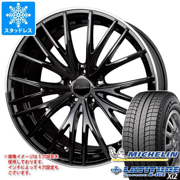 スタッドレスタイヤ ミシュラン ラティチュード エックスアイス XI2 235/65R17 108T XL & プレシャス アスト M1 7.0-17 タイヤホイール4本セット 235/65-17 MICHELIN LATITUDE X-ICE XI2