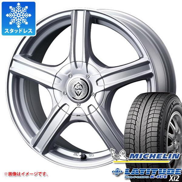 スタッドレスタイヤ ミシュラン ラティチュード エックスアイス XI2 215/70R16 100T & トレファー MH 6.5-16 タイヤホイール4本セット 215/70-16 MICHELIN LATITUDE X-ICE XI2