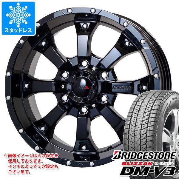 スタッドレスタイヤ ブリヂストン ブリザック DM-V3 215/70R16 100Q & MK-46 GB 7.0-16 タイヤホイール4本セット 215/70-16 BRIDGESTONE BLIZZAK DM-V3