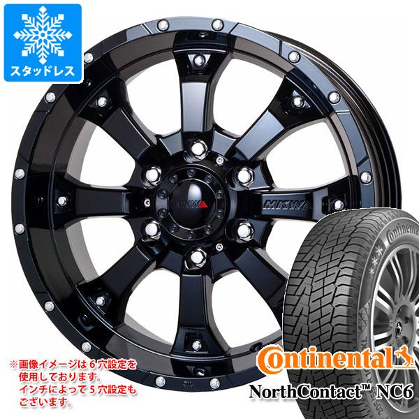 スタッドレスタイヤ コンチネンタル ノースコンタクト NC6 215/65R16 102T XL & MK-46 GB 7.0-16 タイヤホイール4本セット 215/65-16 CONTINENTAL NorthContact NC6