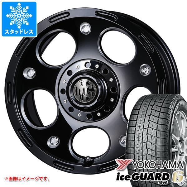スタッドレスタイヤ ヨコハマ アイスガードシックス iG60 215/60R16 95Q & クリムソン MG デーモン 7.0-16 タイヤホイール4本セット 215/60-16 YOKOHAMA iceGUARD 6 iG60