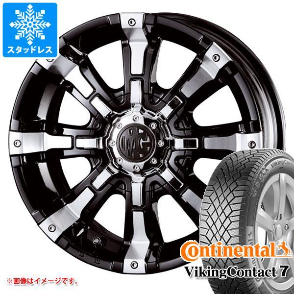 スタッドレスタイヤ コンチネンタル バイキングコンタクト7 225 60R17 103T XL & クリムソン MG ビースト 7.0-17 タイヤホイール4本セット 225 60-17 CONTINENTAL VikingContact 7