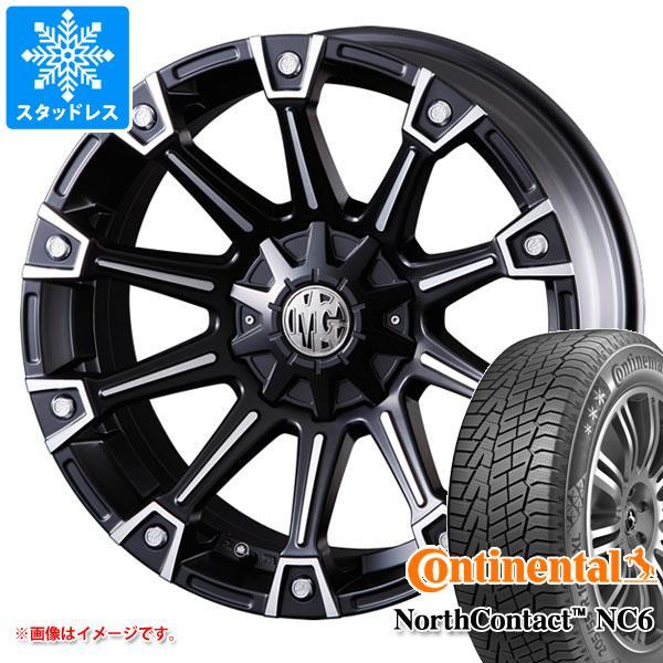 スタッドレスタイヤ コンチネンタル ノースコンタクト NC6 225/65R17 102T & クリムソン MG モンスター 7.0-17 タイヤホイール4本セット 225/65-17 CONTINENTAL NorthContact NC6