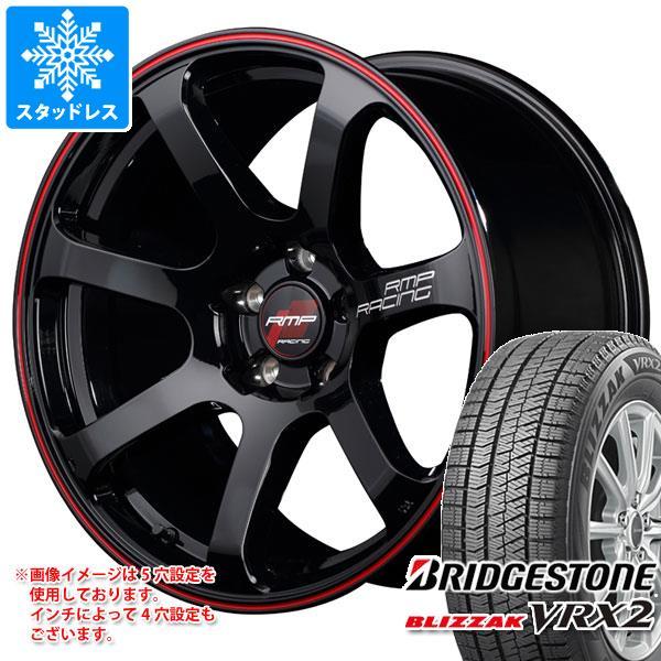 スタッドレスタイヤ ブリヂストン ブリザック VRX2 175/60R16 82Q & RMP レーシング R07 6.0-16 タイヤホイール4本セット 175/60-16 BRIDGESTONE BLIZZAK VRX2