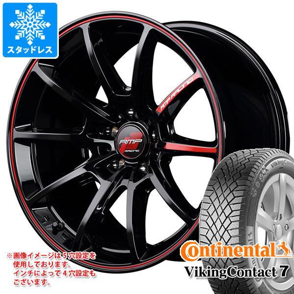 スタッドレスタイヤ コンチネンタル バイキングコンタクト7 165/60R15 81T XL & RMP レーシング R25 5.0-15 タイヤホイール4本セット 165/60-15 CONTINENTAL VikingContact 7