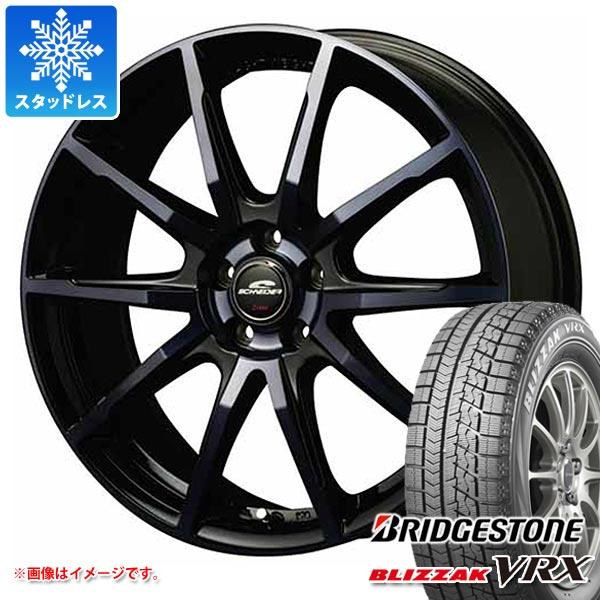 スタッドレスタイヤ ブリヂストン ブリザック VRX 155/70R13 75Q & シュナイダー DR-01 4.0-13 タイヤホイール4本セット 155/70-13 BRIDGESTONE BLIZZAK VRX