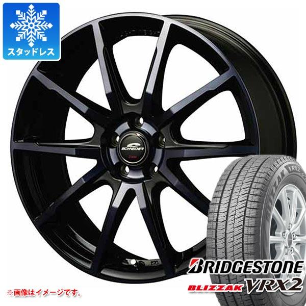 スタッドレスタイヤ ブリヂストン ブリザック VRX2 195/65R15 91Q & シュナイダー DR-01 BPBC 6.0-15 タイヤホイール4本セット 195/65-15 BRIDGESTONE BLIZZAK VRX2