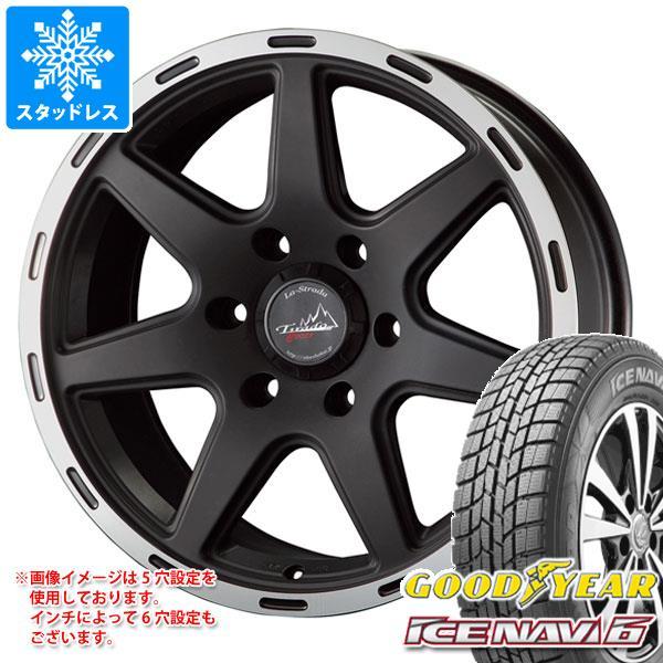 スタッドレスタイヤ グッドイヤー アイスナビ6 205/65R16 95Q & ティラード クロス ブラック 7.0-16 タイヤホイール4本セット 205/65-16 GOODYEAR ICE NAVI 6
