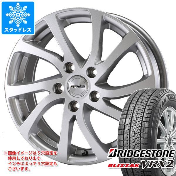スタッドレスタイヤ ブリヂストン ブリザック VRX2 135/80R12 68Q & ティラード イプシロン 3.5-12 タイヤホイール4本セット 135/80-12 BRIDGESTONE BLIZZAK VRX2