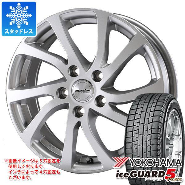 スタッドレスタイヤ ヨコハマ アイスガードファイブ プラス iG50 165/70R14 81Q & ティラード イプシロン 5.5-14 タイヤホイール4本セット 165/70-14 YOKOHAMA iceGUARD 5 PLUS iG50