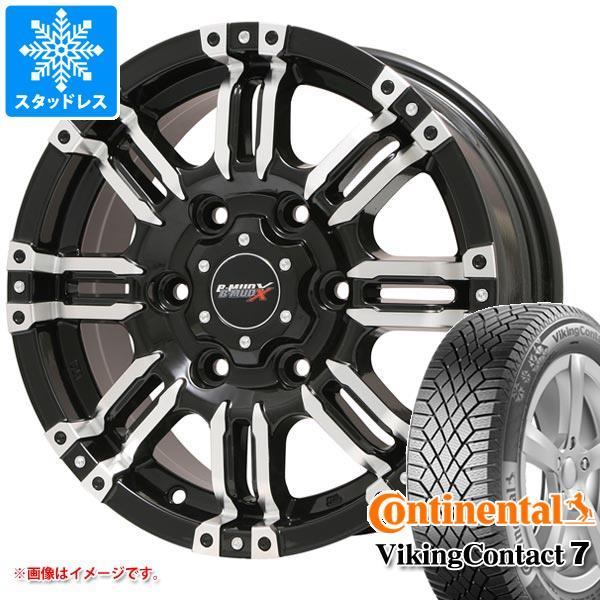 スタッドレスタイヤ コンチネンタル バイキングコンタクト7 165/60R15 81T XL & B マッド エックス 4.5-15 タイヤホイール4本セット 165/60-15 CONTINENTAL VikingContact 7