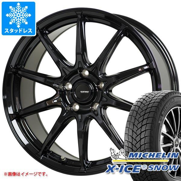 スタッドレスタイヤ ミシュラン エックスアイススノー 185/65R15 92T XL & ジースピード G-05 タイヤホイール4本セット 185/65-15 MICHELIN X-ICE SNOW