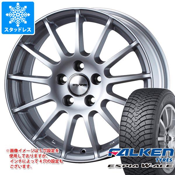 MINI ミニ R56用 スタッドレス ファルケン エスピア ダブルエース 175/65R15 84S アーヴィン F01 タイヤホイール4本セット