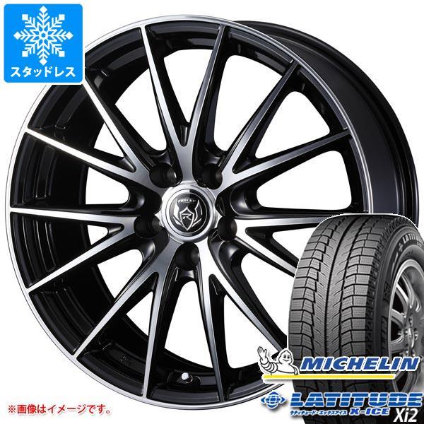 スタッドレスタイヤ ミシュラン ラティチュード エックスアイス XI2 225/70R16 103T & ライツレー VS 6.5-16 タイヤホイール4本セット 225/70-16 MICHELIN LATITUDE X-ICE XI2