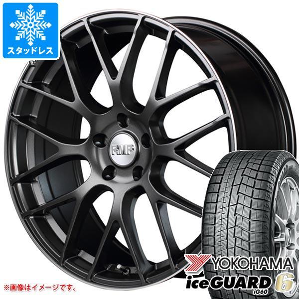 スタッドレスタイヤ ヨコハマ アイスガードシックス iG60 245/50R18 104Q XL & RMP 028F 8.0-18 タイヤホイール4本セット 245/50-18 YOKOHAMA iceGUARD 6 iG60