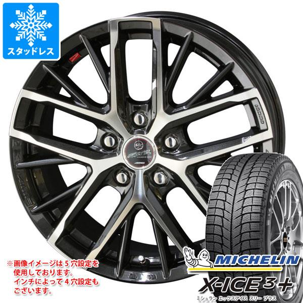 スタッドレスタイヤ ミシュラン エックスアイス3プラス 195/65R15 95T XL & スマック レヴィラ 6.0-15 タイヤホイール4本セット 195/65-15 MICHELIN X-ICE3+