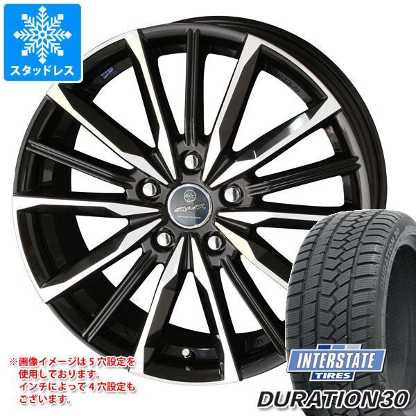 スタッドレスタイヤ インターステート デュレーション30 215/45R17 91H XL & スマック ヴァルキリー 7.0-17 タイヤホイール4本セット 215/45-17 INTERSTATE DURATION 30