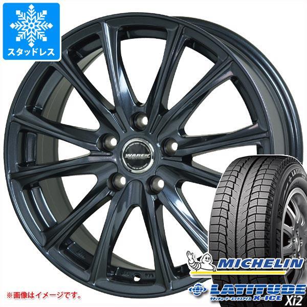 スタッドレスタイヤ ミシュラン ラティチュード エックスアイス XI2 225/70R16 103T & ヴァーレン W05 6.5-16 タイヤホイール4本セット 225/70-16 MICHELIN LATITUDE X-ICE XI2