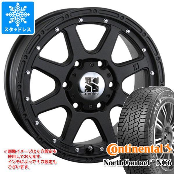 スタッドレスタイヤ コンチネンタル ノースコンタクト NC6 235/65R17 108T XL & エクストリームJ 7.5-17 タイヤホイール4本セット 235/65-17 CONTINENTAL NorthContact NC6