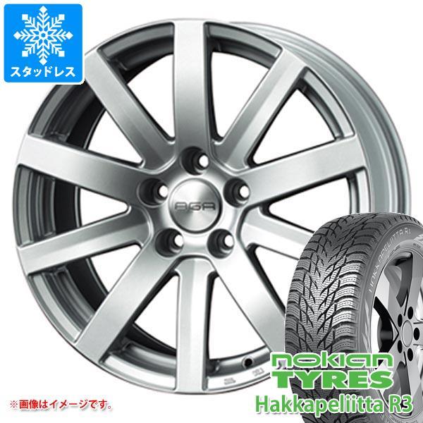 アウディ RS6 4G系用 スタッドレス ノキアン ハッカペリッタ R3 275/35R20 102T XL AGA S-10 タイヤホイール4本セット