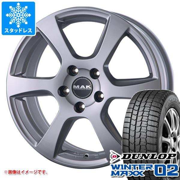MINI ミニ F55/F56用 スタッドレス ダンロップ ウインターマックス02 WM02 175/65R15 84Q MAK ヴィンチー タイヤホイール4本セット