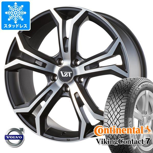 ボルボ V60クロスカントリー FD/FB系用 スタッドレス コンチネンタル バイキングコンタクト7 235/50R18 101T XL VST タイプPLS タイヤホイール4本セット