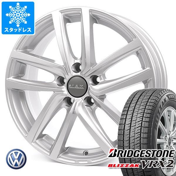 VW アルテオン 3HD系用 スタッドレス ブリヂストン ブリザック VRX2 245/45R18 100Q XL MAK ドレスデン タイヤホイール4本セット