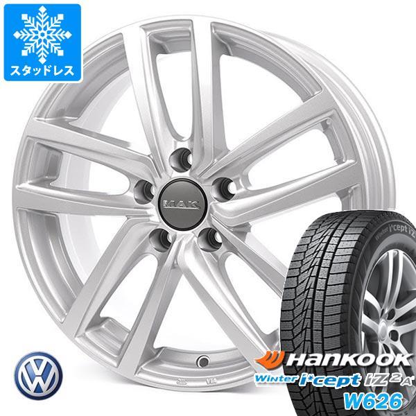 VW ゴルフ6用 スタッドレス ハンコック ウィンターアイセプト IZ2エース W626 195/65R15 95T XL MAK ドレスデン タイヤホイール4本セット