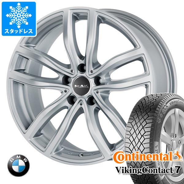 BMW G20 3シリーズ用 スタッドレス コンチネンタル バイキングコンタクト7 205/60R16 96T XL MAK ファー シルバー タイヤホイール4本セット