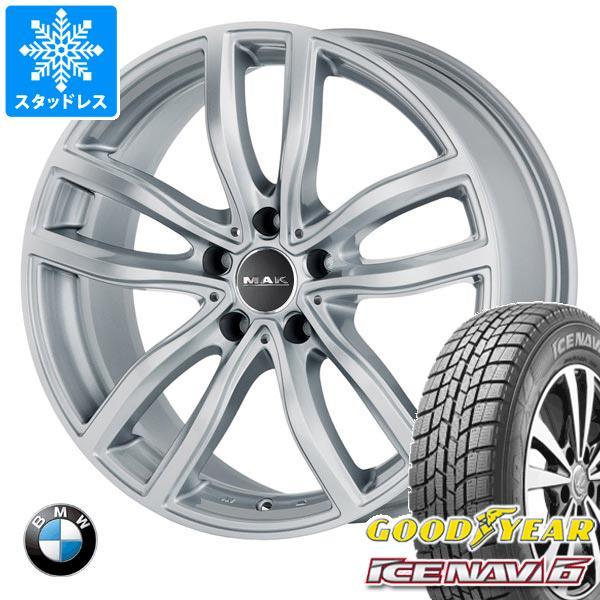 BMW G29 Z4用 スタッドレス グッドイヤー アイスナビ6 225/45R18 91Q MAK ファー シルバー タイヤホイール4本セット