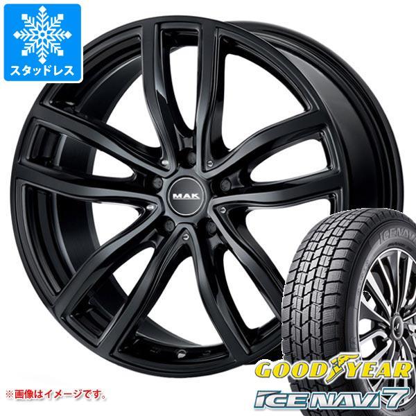 BMW G20 3シリーズ用 スタッドレス グッドイヤー アイスナビ7 205/60R16 92Q MAK ファー タイヤホイール4本セット