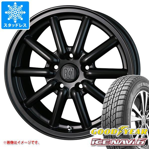 2020年製 スタッドレスタイヤ グッドイヤー アイスナビ6 215/60R16 95Q & ドゥオール フェニーチェ RX1 7.0-16 タイヤホイール4本セット 215/60-16 GOODYEAR ICE NAVI 6