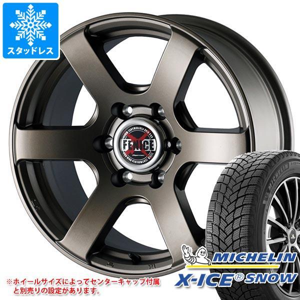 2020年製 スタッドレスタイヤ ミシュラン エックスアイススノー 215/55R17 98H XL & ドゥオール フェニーチェ クロス XC6 7.5-17 タイヤホイール4本セット 215/55-17 MICHELIN X-ICE SNOW