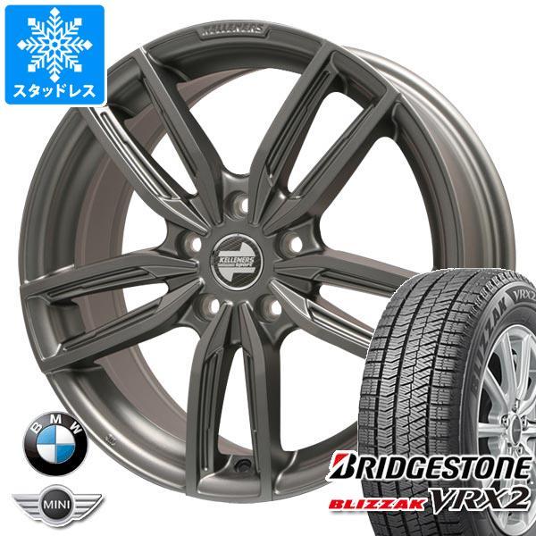 BMW F40 1シリーズ用 スタッドレス ブリヂストン ブリザック VRX2 205/55R16 91Q ケレナーズ ジュニア GF5 MT タイヤホイール4本セット