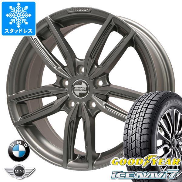 BMW F40 1シリーズ用 スタッドレス グッドイヤー アイスナビ7 225/45R17 91Q ケレナーズ ジュニア GF5 MT タイヤホイール4本セット