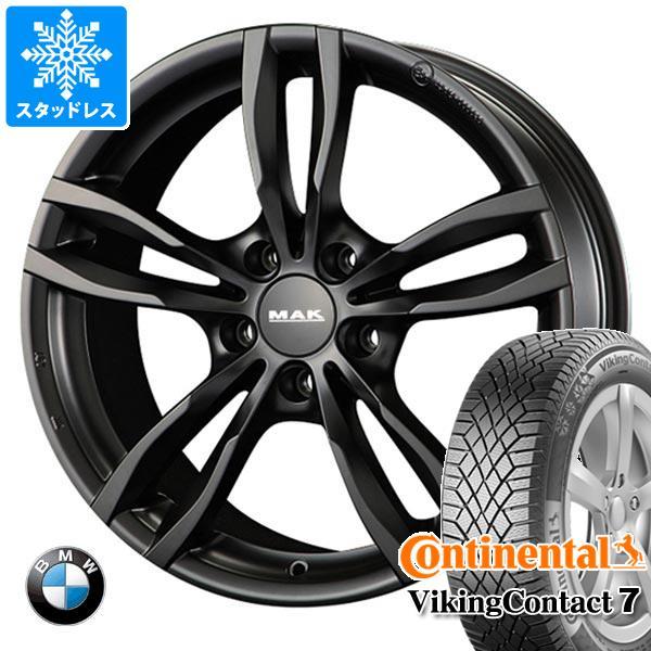 BMW F36 4シリーズ用 スタッドレス コンチネンタル バイキングコンタクト7 225/45R18 95T XL MAK ルフト タイヤホイール4本セット