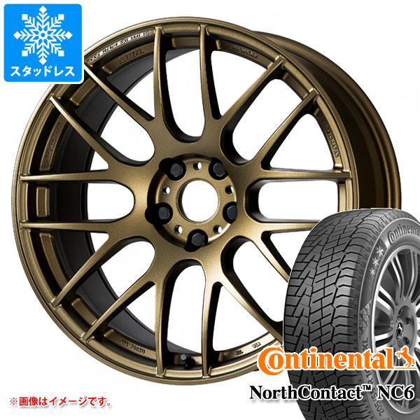 今季ブランド スタッドレスタイヤ コンチネンタル ノースコンタクト NC6 235/55R18 104T XL & エモーション M8R 7.5-18 タイヤホイール4本セット 235/55-18 CONTINENTAL NorthContact NC6, WISERS b601e93b