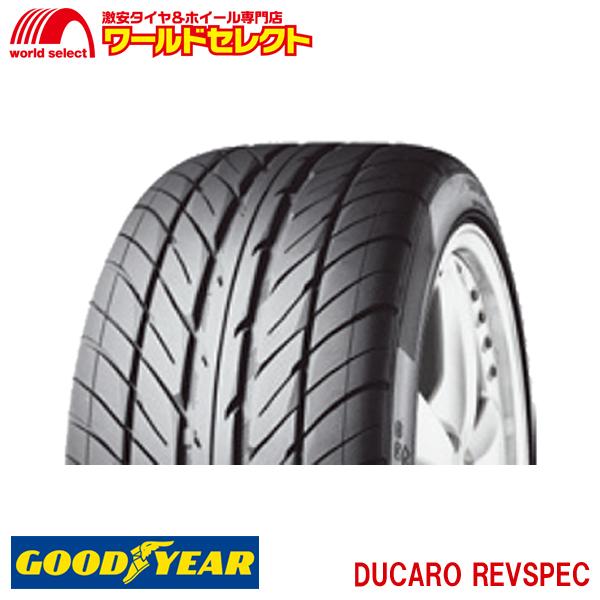 初売り ポイント最大26倍 クーポン最大1000円OFF 1/9~1/16 4本セット 新品タイヤ DUCARO REVSPEC 195/45R16 195/45-16 グッドイヤー GOODYEAR 16インチ サマータイヤ
