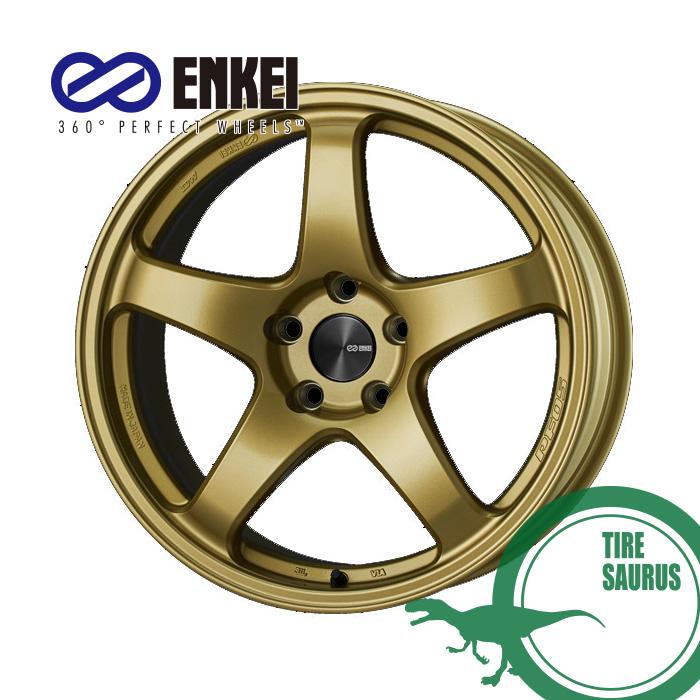 ホイール1枚 ENKEI エンケイ パフォーマンスライン おすすめ PF05 18インチ 8.5J 上等 F-Face +45 go PCD114 5 PerformanceLine カラー:ゴールド