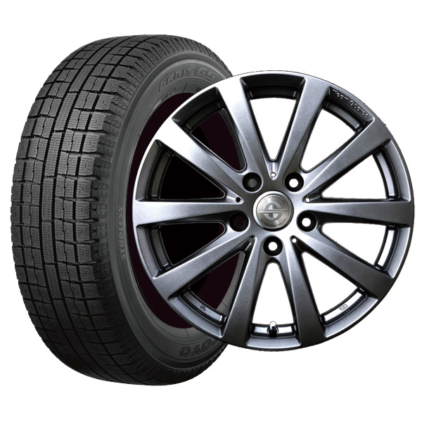 VW ザ・ビートルなど 215/60R16 トーヨータイヤ ガリットG5 ホイール :バラーレ 16×7.0 112/5 +37 3X118 輸入車 スタッドレス ホイールセット 4本